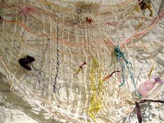 Gossamer handiwork - Loop of the Loom, NYC    yeah yeah okay so this is open weaving
