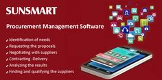SunSmart Tech- helps our #Clients with #nTirePMS – #Cloud #Based / #On #Demand / On #Premises #Intelligent #Procurement #Management #Solution with #inbuilt #Supply #Chain #Management #(SCM) that addresses these manual works and brings efficiency, speedy response, reduce operational cost, and above all a structure to the entire #Procurement #Process.