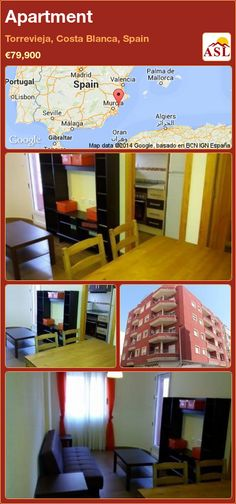 Apartment for Sale in Torrevieja, Alicante (Costa Blanca), Spain - A Spanish Life Apartments For Sale, Alicante, Torrevieja, Costa, Terrace, Spain, Lounge, Flooring