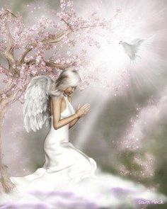 Beautiful Angels Pictures, Beautiful Fairies, Hello Beautiful, Angel Images, Angel Pictures, Angels Among Us, Angels And Demons, Angel Artwork, Angel Drawing