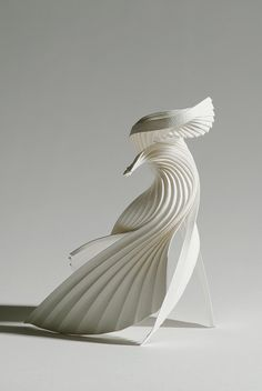 Embrace | Richard's paper sculpture Embrace was selected for… | Flickr