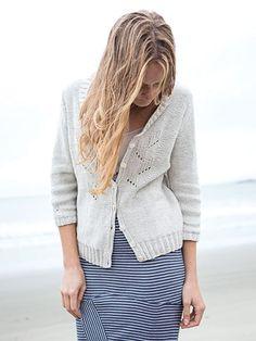 Knit - Prickly Poppy Cardigan Knit Pattern - #707512