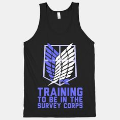 Training To Be In The Survey Corps | HUMAN | T-Shirts, Tanks, Sweatshirts and Hoodies