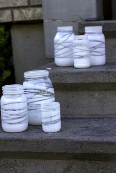 mason jar lantersn