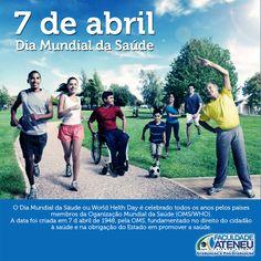 07.05. Dia Mundial da Saúde  #faculdadeateneu #criandovalores