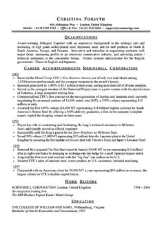 Exporter International Shipping Resume Example