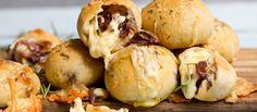 Cheesebombs med Jarlsberg® og karamelisert løk