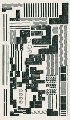 Teresa Żarnowerówna, typographic composition, 1924.  Against All Odds: Polish Graphic Design 1919-1949 by Piotr Rypson.