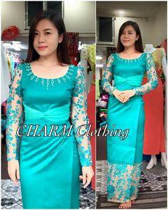 Myanmar Dresses