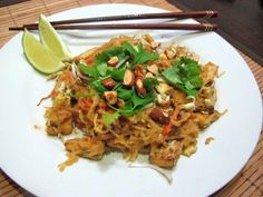 spicy-peanut-pad-thai Delicious!!! I added some chicken and shredded zucchini from the garden to it and doubled the sauce because my spaghetti squash was really large. Amazingly healthy and delicious!!
