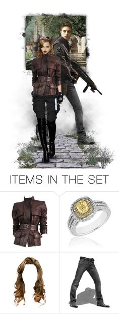 """""""All's fair in love and war."""" by xxchanelxx ❤ liked on Polyvore featuring art, PERFECTION, doll, couple, dolls and kaverik"""