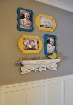 Colorful Photo Wall Plaques