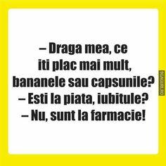 Iți plac mai mult bananele sau căpșunile? Funny Jockes, Jokes, Smokehouse, Lol, Humor, Random, Husky Jokes, Humour, Memes