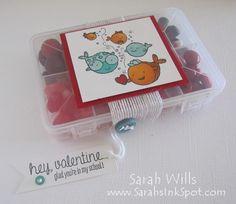 Sarahs Ink Spot mini tackle box candy treats