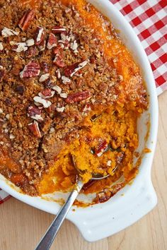 Sweet Potato Casserole for a thanksgiving side dish. #thanksgiving #thanksgivingrecipe #sidedish