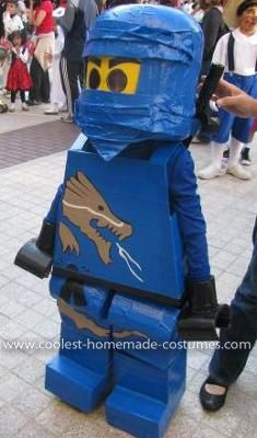 Homemade Ninjago costume