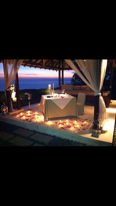 Romantic Dinner at Tirtha Dining
