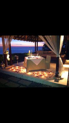 Romantic Dinner at Tirtha Dining