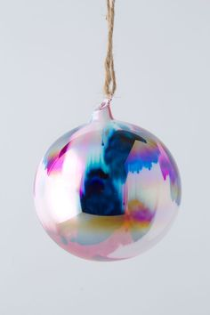 Anthropologie	Marbled Glass Orb