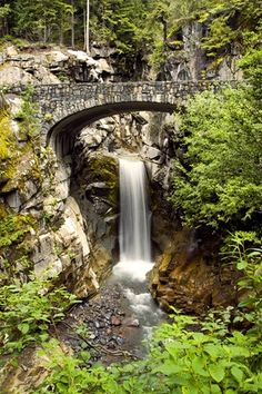Christine Falls, Mt Rainer WA