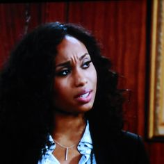 Leslie Michaelson (Angell Conwell), Noah's attorney, tells Nick that the trial could go either way.
