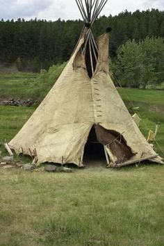 Photographic Print: Tipi Made of Buffalo Hide Sewn with Sinew in Traditional Way, Lakota Encampment, Black Hills, SD : Native American Teepee, American Indian Art, American Indians, Wind Pictures, Indian Teepee, Indian Pictures, Indian Pics, Outdoor Movie Nights, Native American Artifacts