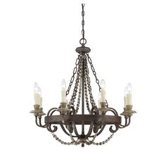 Found it at Joss & Main - Eastwick 8-Light Candle-Style Chandelier