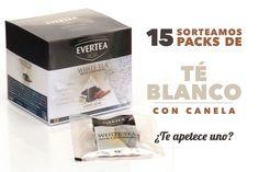 Prueba GRATIS el nuevo y delicioso  Té Blanco con Canela
