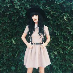 "Rachel Marie Iwanyszyn på Instagram: ""Today's look ft @deandri. A good way to wear leather in this heat """