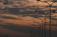 * a quiet sunset *