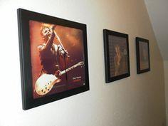 Gary Numan Fan Art using the Art Vinyl Triple Frame pack