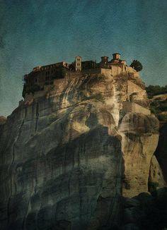 Meteora. Grecia