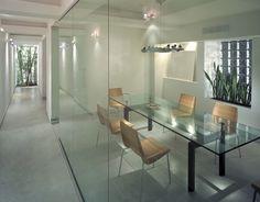 Glass Office Meeting Room- Gracious Luxury Interiors