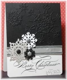 F4A92 Merry Christmas by stampercamper - Cards and Paper Crafts at Splitcoaststampers - Mary Brown - Hand-Penned Holidays