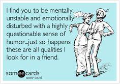 Friend qualities