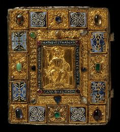 Sion Gospels book cover (~1140-50)