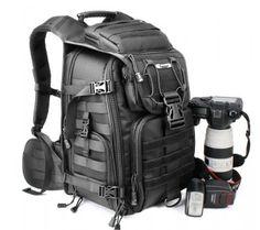 Professional Gear Backpack for Digital SLR Canon / Nikon /Sony Cameras & Laptops / iPad