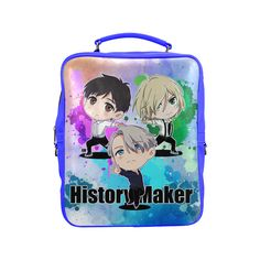 History Maker Square Backpack (Model 1618)