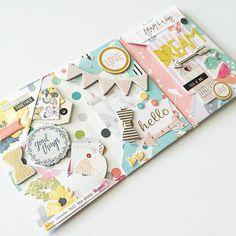 SNAIL MAIL FLIP BOOK - Kylie K. paper_sweetpea - Outgoing flip book. #snailmail #outgoingmail #happymail #penpal #prettymail