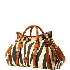 dooney & bourke - jones bag    Love the new animal collection!