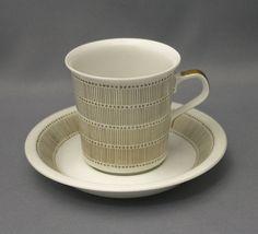 Arabia, Teheran 1964-71 Savi, Fika, Ceramic Painting, Finland, Ceramics, Dishes, Coffee, Retro, Tableware