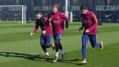 Training 15/02/2016   FC Barcelona