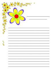 hojas decoradas para escribir en ellas - Buscar con Google