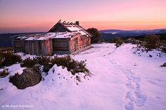 Craigs Hut, Mt Stirling, Victoria, Australia