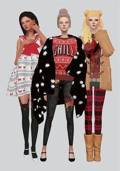 Christmas Pack at Kalewa-a • Sims 4 Updates