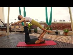 """Acro Yoga with Britta"": High Flying Whale (ep. Acro, Yoga, Youtube, Youtubers, Yoga Sayings, Youtube Movies"