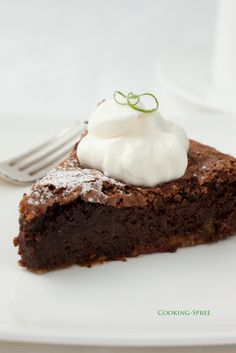 chocolate lime cake