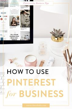 If you're curious about how to get your business set up on Pinterest this video tutorial will show you step by step how to do it! It will teach you how to add the right keywords into your name and description so you'll be found by YOUR audience, as well as the key components to include in your account description! #pinteresttips  #pinterestmarketing #pinterestforbusiness #pinterestmarketingtips