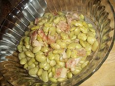 Country Style Lima Beans: A copycat recipe of my son's favorite at Cracker Barrel, these are very easy, and full of flavor.