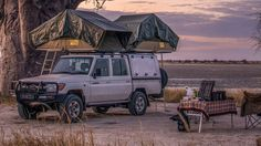Found the perfect view? Stop right there and enjoy a sundowner. 4x4, Safari, Africa, Adventure, Vehicles, Places, Cars, Adventure Game, Adventure Books